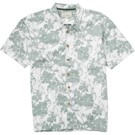 HONOLUA HAWAIIAN LEEWARD HAWAIIAN SHIRT HUNTER