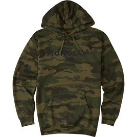 HONOLUA SURF MENS-HAWAIIAN-FLEECE CAMO SIDE HOODED FLEECE CAMOFLAUGE