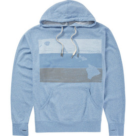 HONOLUA HAWAIIAN (PRODUCT URL BUG) BLOCKHEAD PULLOVER FLEECE SKY BLUE