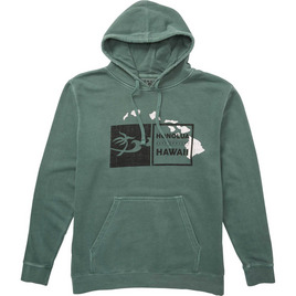 HONOLUA HAWAIIAN (PRODUCT URL BUG) DOUBLE DOUBLE HOODIE MILITARY