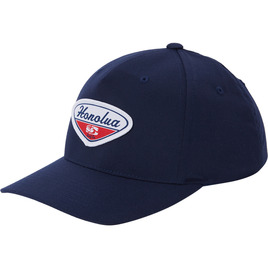 HONOLUA SURF MENS-HAWAIIAN-HATS PETROL PATCH HAT NAVY
