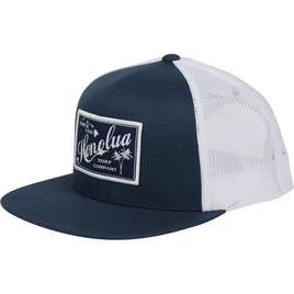 HONOLUA - HATS RETRO RECTANGLE TRUCKER HAT NAVY