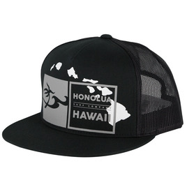 HONOLUA HAWAIIAN (PRODUCT URL BUG) DOUBLE DOUBLE TRUCKER HAT