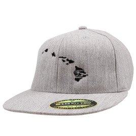 HONOLUA HONOLUA PRODUCTS LINK FLEXFIT HAWAII HAT