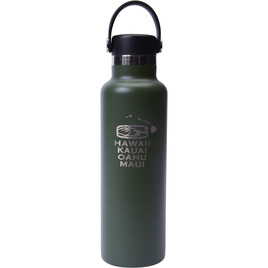 HONOLUA SURF ACCESSORIES 21OZ HYDRO FLASK OLIVE