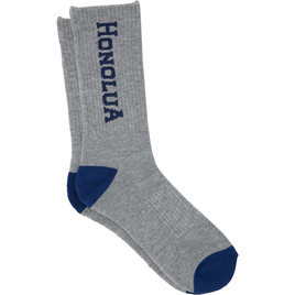 HONOLUA SURF ACCESSORIES HI-CORPORATE SOCK LT GREY HEATHER