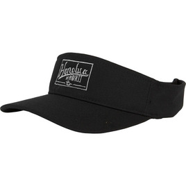 HONOLUA SURF MENS-HAWAIIAN-HATS LIFETIME VISOR BLACK