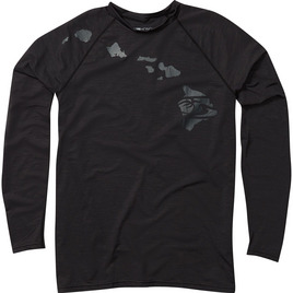 HONOLUA HONOLUA PRODUCTS HEATHERED LINK LONG SLEEVE RASHGUARD