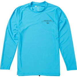 HONOLUA HAWAIIAN (PRODUCT URL BUG) HONO OAR LS RASHGUARD
