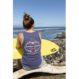 HONOLUA SURF - TEES SISTA TANK TOP NAVY