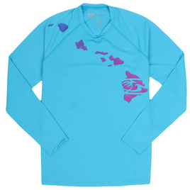 HONOLUA - RASHGUARDS LINK LONG SLEEVE HAWAII RASHGUARD