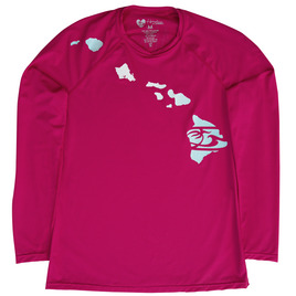 HONOLUA HAWAIIAN (PRODUCT URL BUG) LINK LONG SLEEVE HAWAII RASHGUARD
