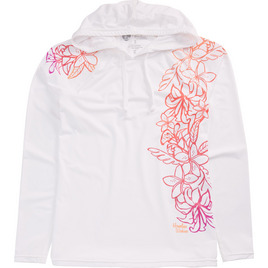 HONOLUA SURF - RASHGUARDS DAZZLING UV SHIRT WHITE
