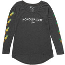 HONOLUA - LONG SLEEVE TEES PINEAPPLE LEI LS TEE