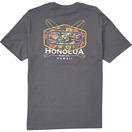 HONOLUA SURF CLOTHING FLORAL FADE SS TEE