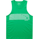 Green Stripe Comp Tank