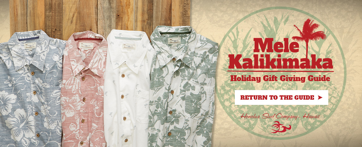 Gift Guide 2019 - Hawaiian Shirts